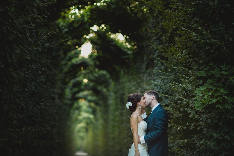 zahrada zamku schonbrunn svadba