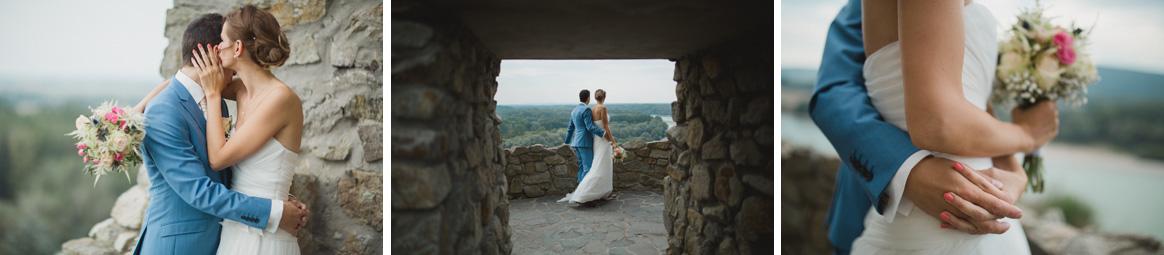 svadobne fotenie na Devine, portrety svadobneho paru